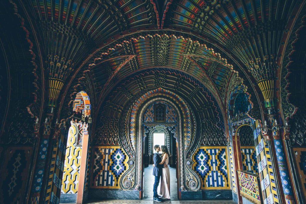 Castello di Sammezzano, sala del Pavone